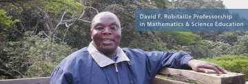 David F. Robitaille Professorship in Mathematics and Science Education