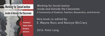 New Book Co-edited by E. Wayne Ross