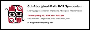 6th Aboriginal Math K-12 Symposium