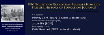 Historical Studies in Education