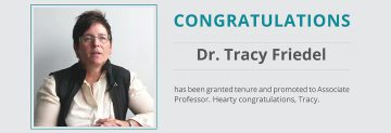 Tracy Friedel's promotion and tenure