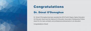 Congratulations to Dr. Dónal O'Donoghue