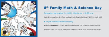 8th Family Math & Science Day