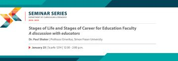 Stages of Life and Stages of Career for Education Faculty: A Discussion with Educators