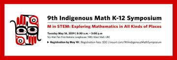 9th Indigenous Math Symposium