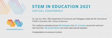 6th International STEM in Education 2021 Virtual Conference